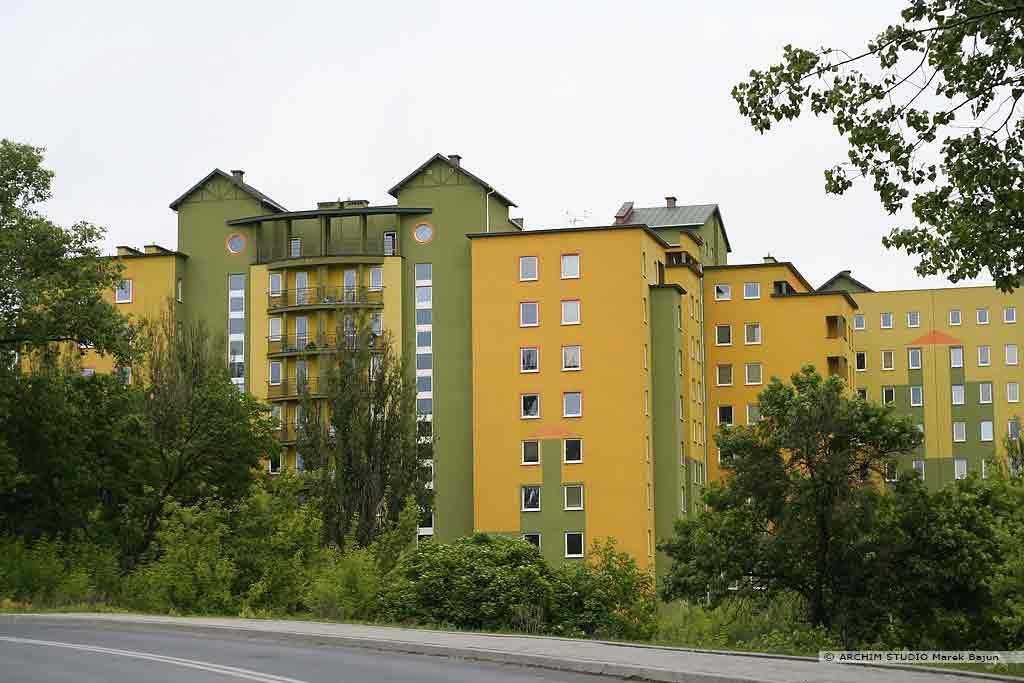 Budynek mieszkalny średniowysoki- akademik