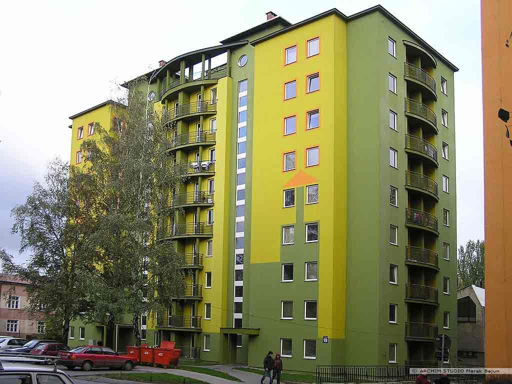 Budynek mieszkalny średnowysoki- akademik
