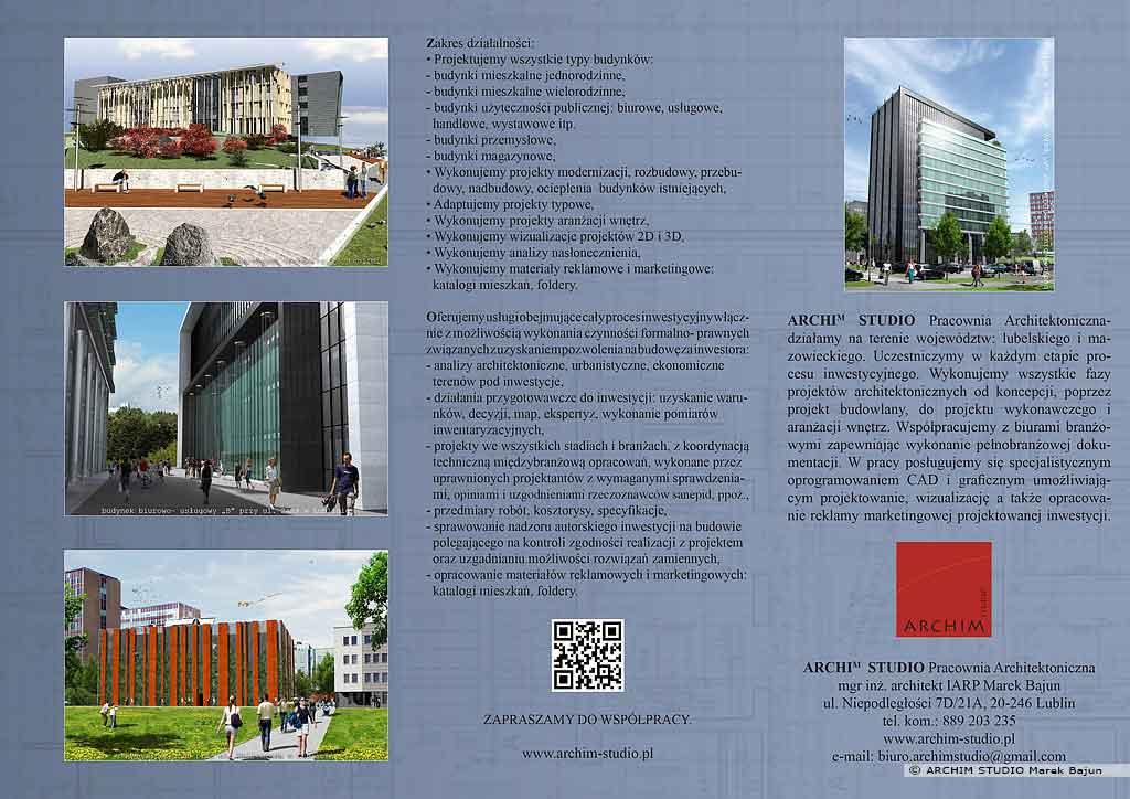 Folder ARCHIM STUDIO- front