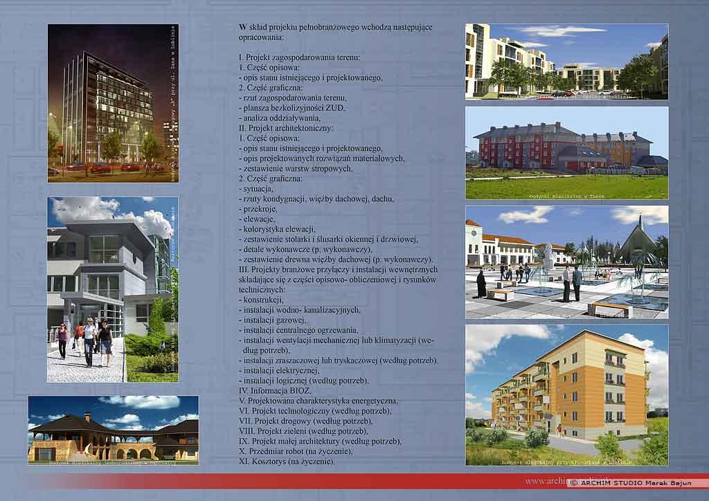 Folder ARCHIM STUDIO- tył