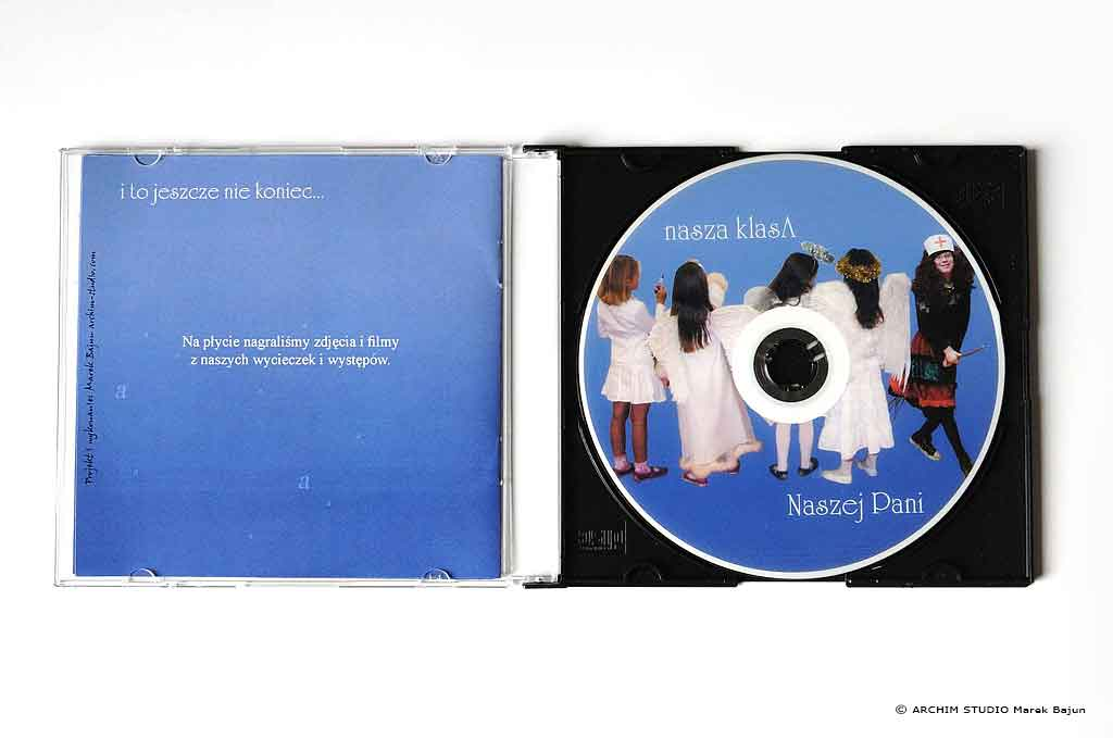 Okładka płyty po otworzeniu