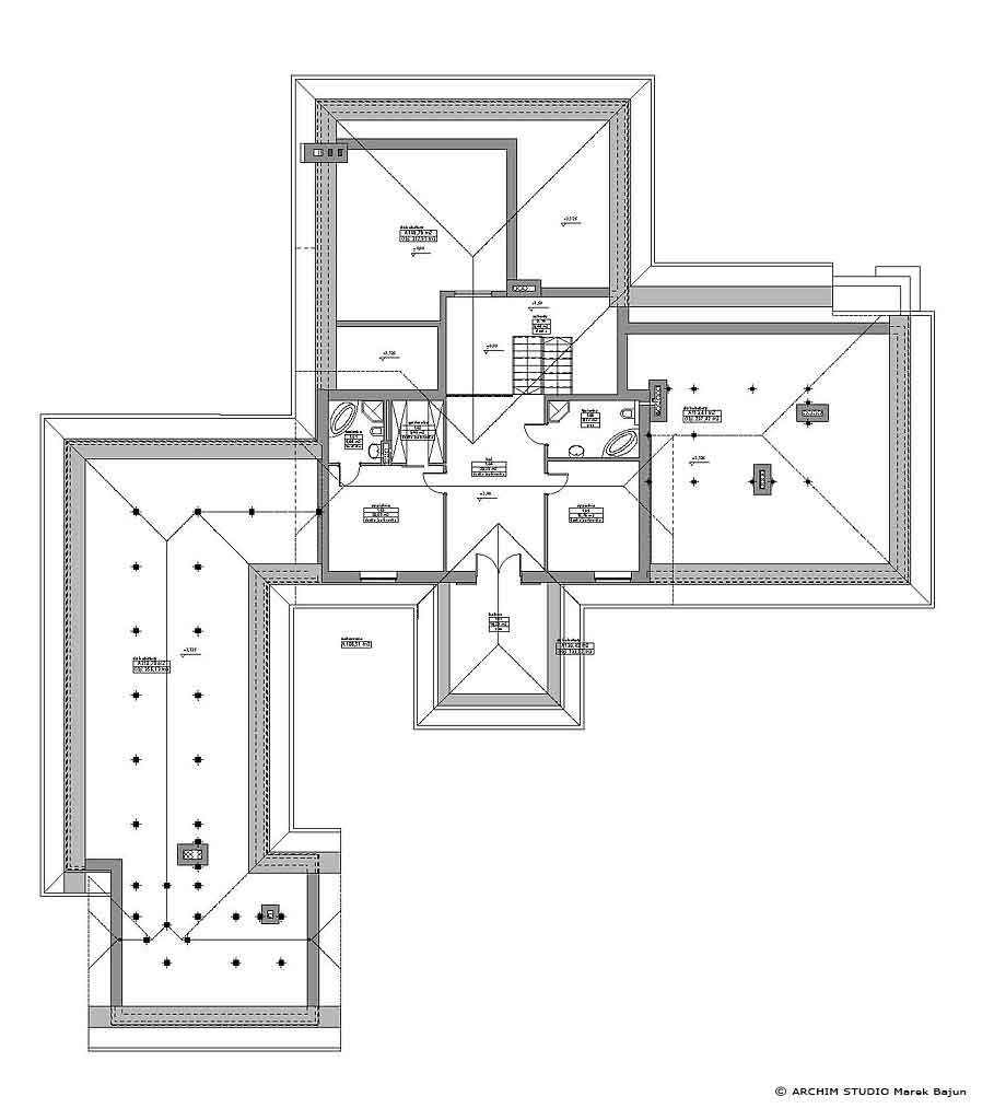 Rezydencja- rzut piętra