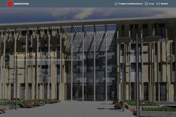 Strona responsywna ARCHIM STUDIO dla komputerów