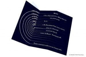 Zaproszenie na studniówkę- wizualizacja części wewnętrznej
