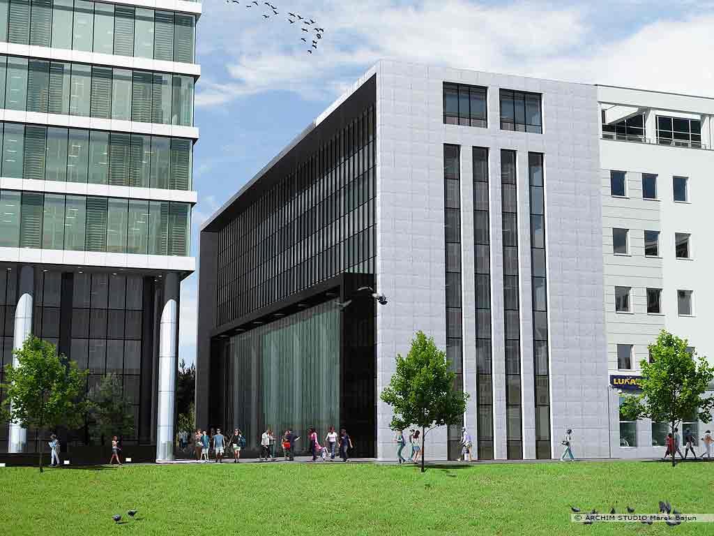 Biurowiec Gray Office- widok