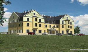 Motel widok z lewej strony