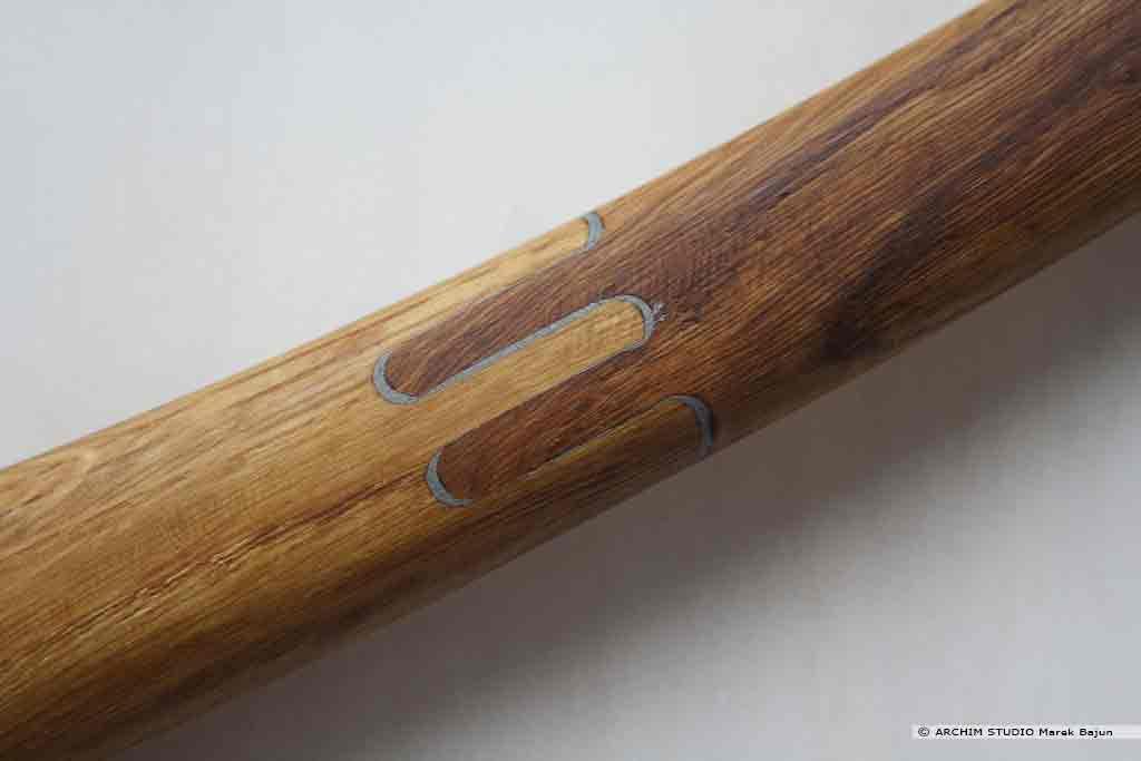 Piła składana do drewna- detal