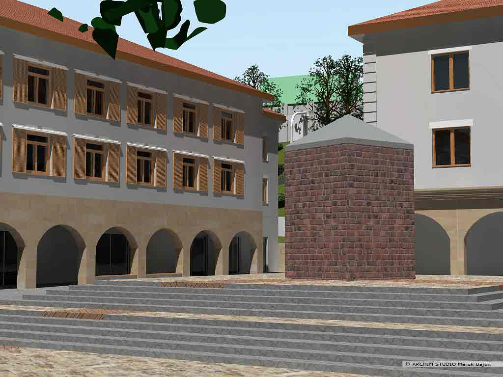 Projekt rewitalizacji obszaru Podzamcza w Lublinie- zdrój uliczny
