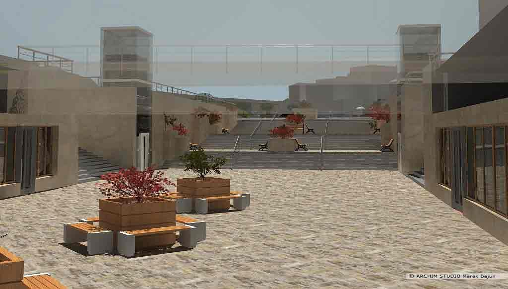 Projekt rewitalizacji obszaru Podzamcza w Lublinie- przejście podziemne