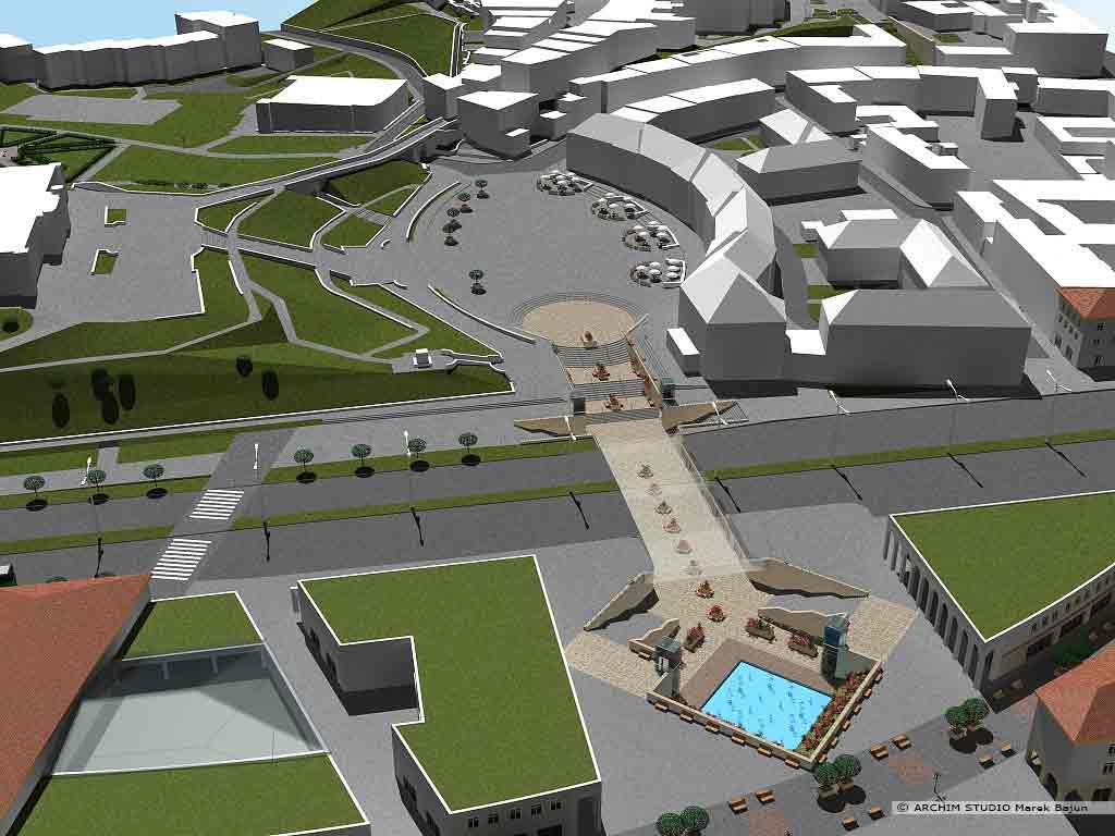 Projekt rewitalizacji obszaru Podzamcza w Lublinie- połączenie starego miasta z podzamczem