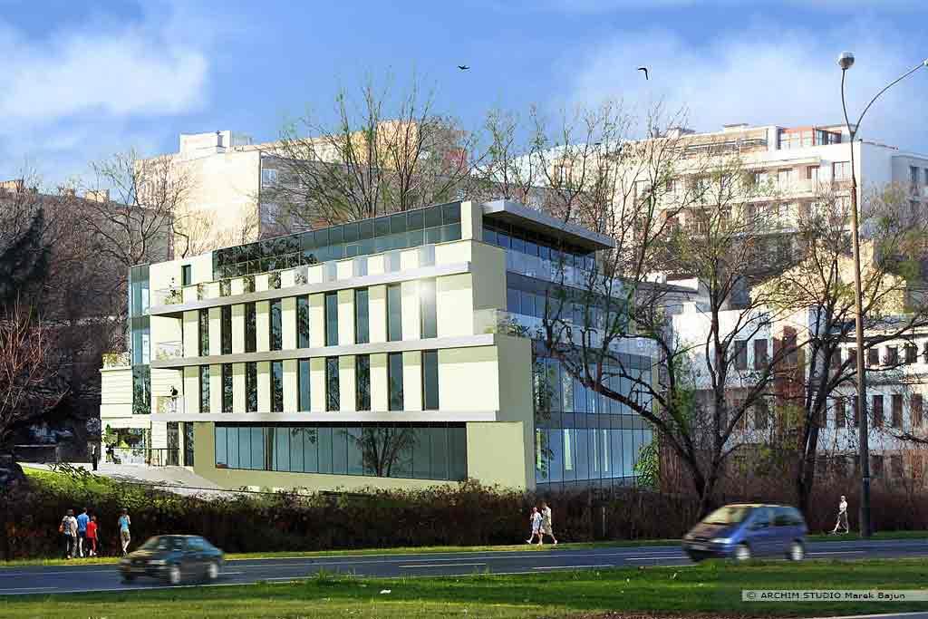 Rozbudowa i nadbudowa budynku- widok tyłu
