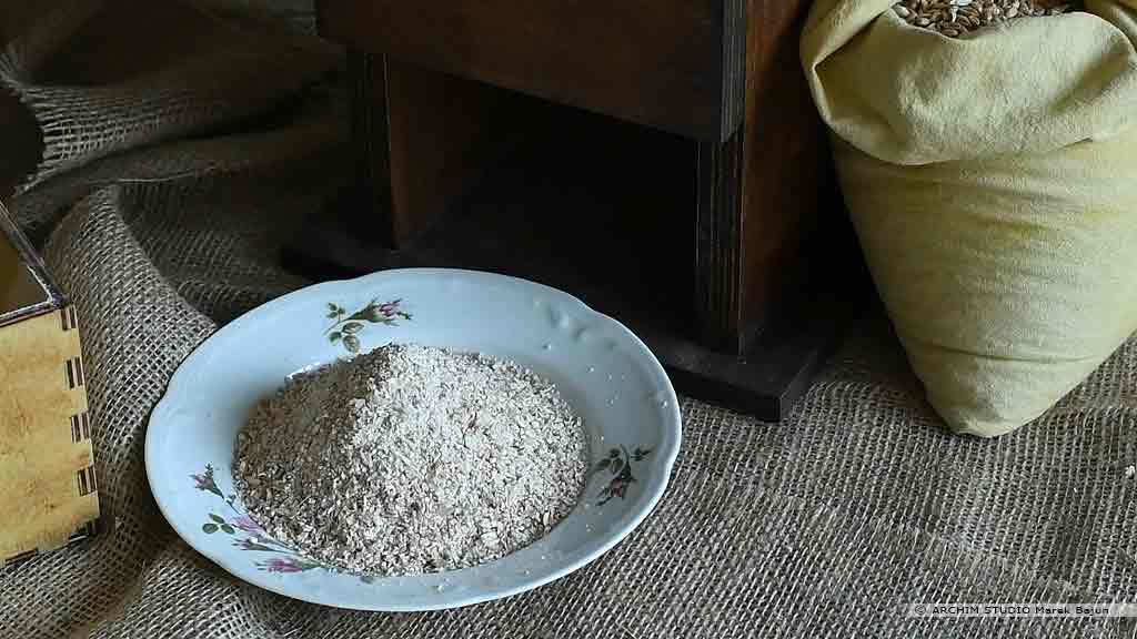 Własna mąka żytnia