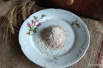 Mąka żytnia z otrębami