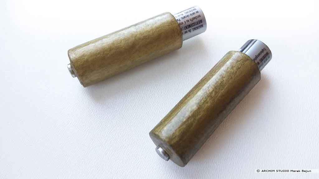 Adapter do baterii AAA na AA