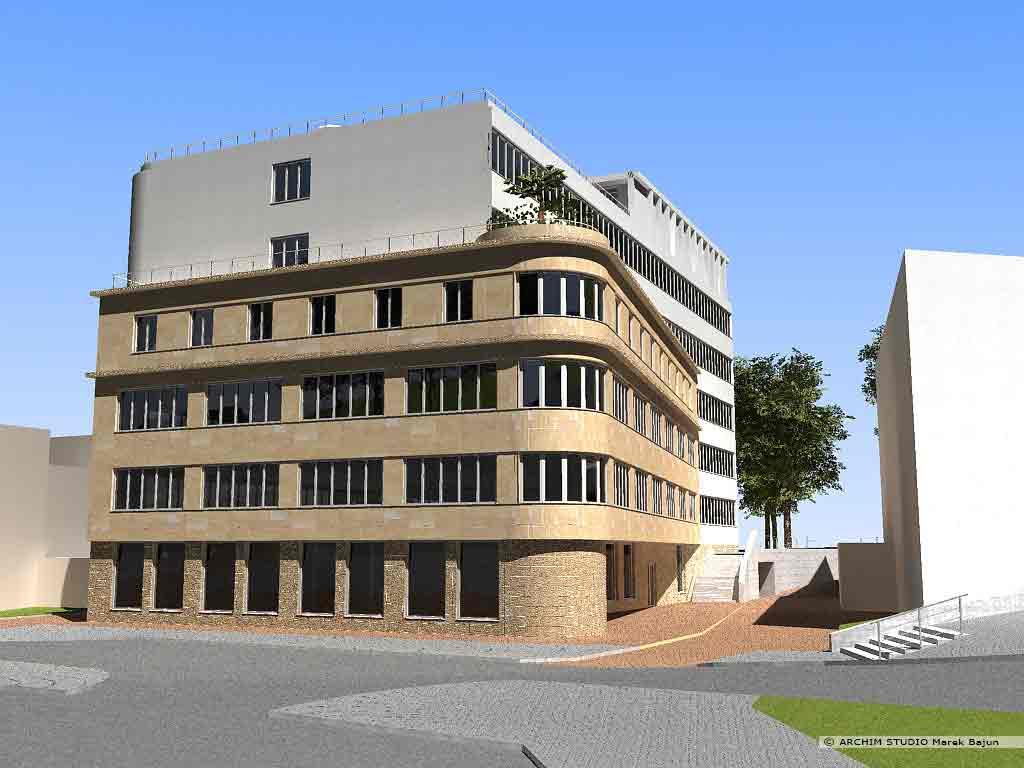 Budynek biurowo usługowy
