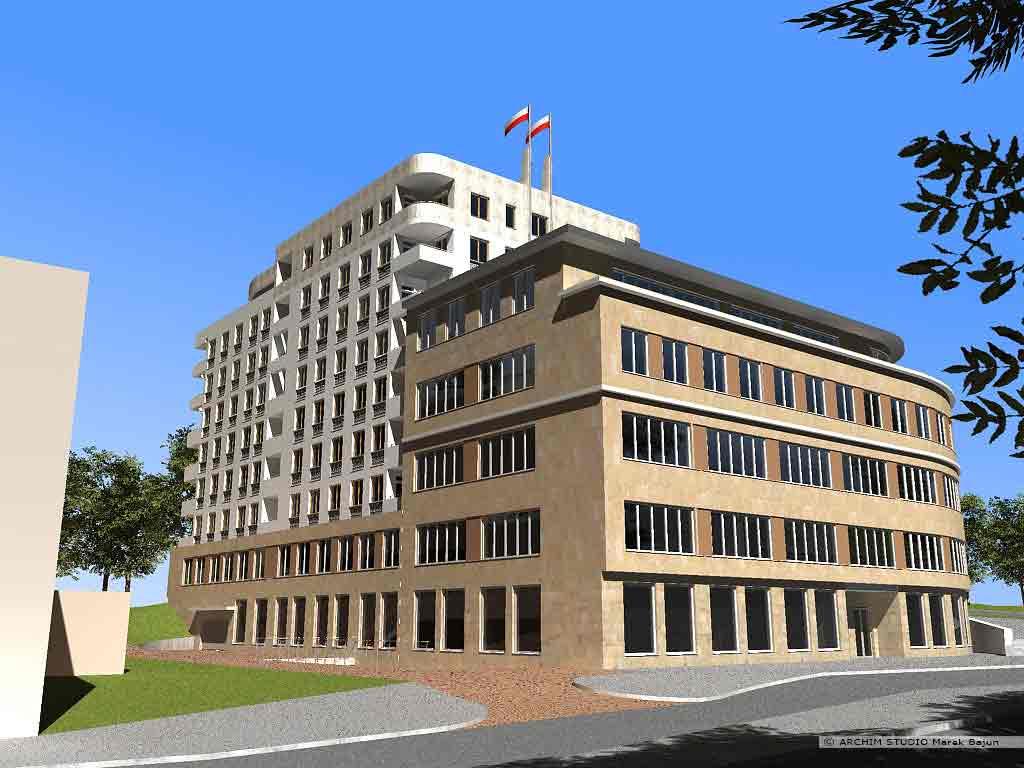 Budynek biurowy z usługami