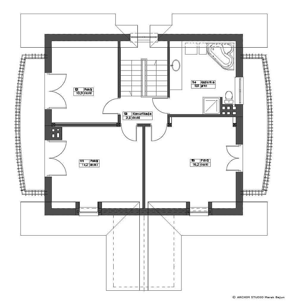 Dom jednorodzinny prosty