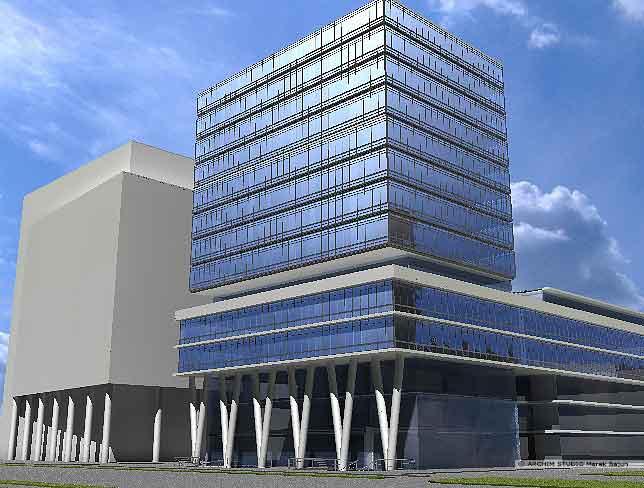 Koncepcja budynku biurowego