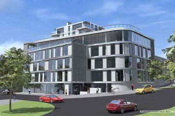 Projekt budynku biurowo usługowego