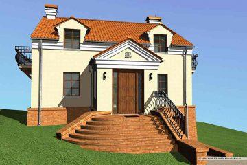 Projekt domu z garażem