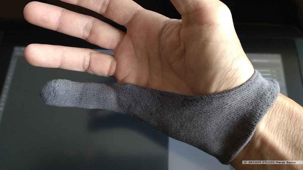Rękawiczka do tabletu