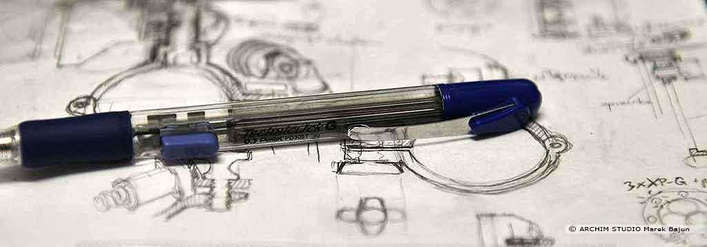 architekt projektuje