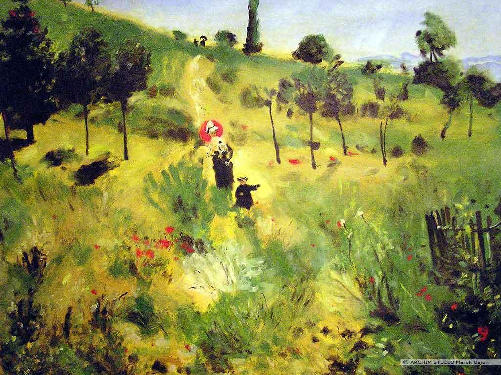 Kopia obrazu Renoir- a
