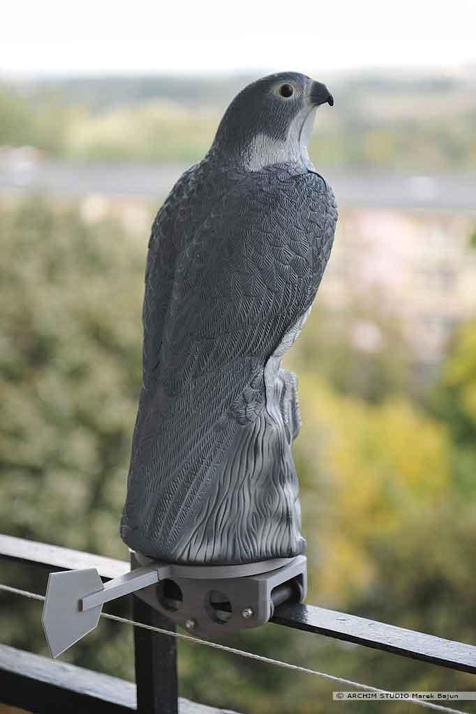 Mobilna podstawa stracha na ptaki
