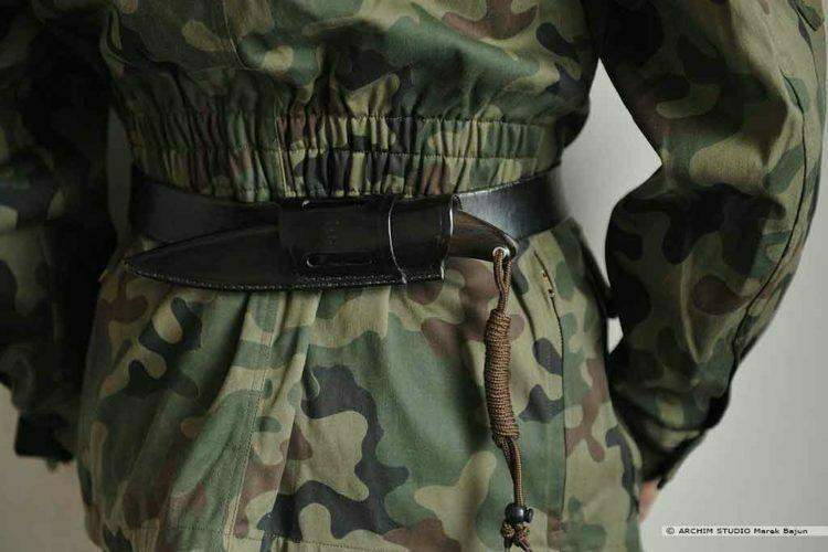 Nóż bushcraftowy