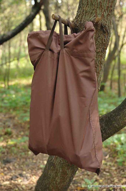 Siatka plecak worek ze ściągaczem