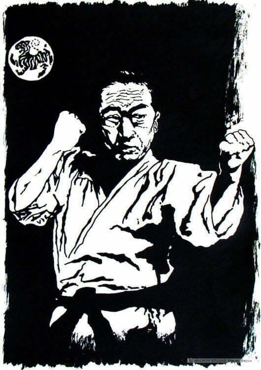 Portret tuszem- Masatoshi Nakayama