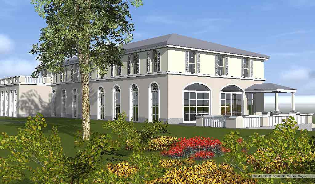 Projekt domu weselnego