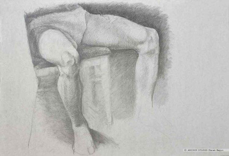 Rysunek nóg