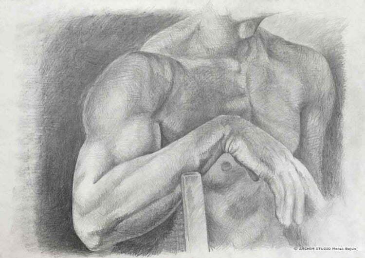 Rysunek ramienia